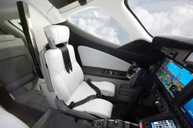 HondaJet cockpit