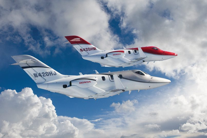 Introducing the HondaJet