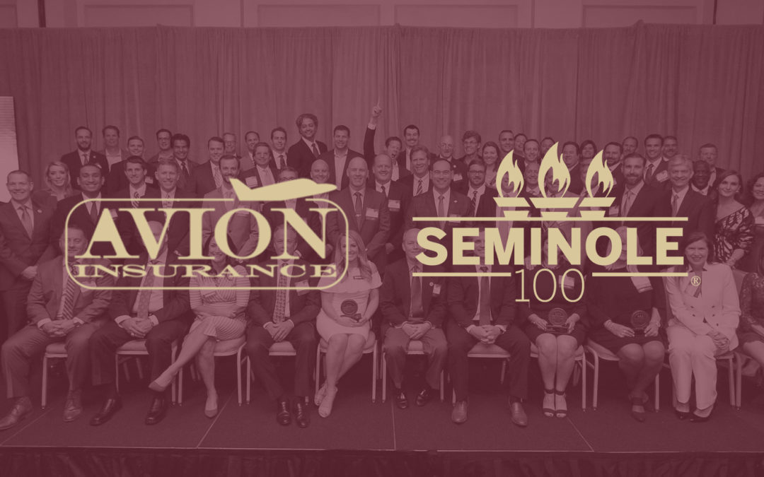 AVION Named #32 in Seminole 100 – 2019