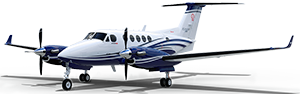 King Air 250 cutout image