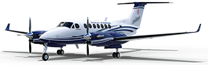 King Air 350ER cutout image