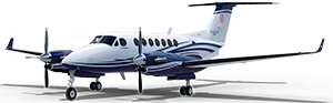 King Air 350i cutout image